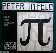 Thomastik PI100 Peter Cordes Infeld Set complet avec E platine 4/4-violon