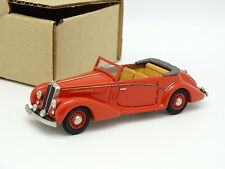 MA COLLECTION Brianza Resin 1/43 - Salmson s4 61 Cabriolet 1949 Red