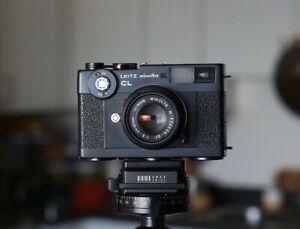 Leitz Minolta CL KIT 40mm ROKKOR and 28mm lens complete kit - Film tested!!