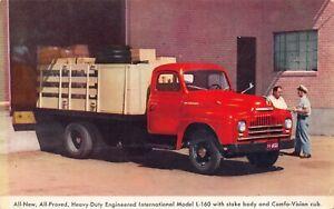 Postcard Heavy-Duty Engineered International Model L-160~127452