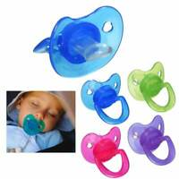 4 Pk Baby Pacifier BPA-Free 0+ Months Infant Newborn Orthodontic Silicone Nipple