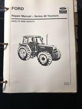 Ford New Holland Repair Manual Series 40 Tractors *435