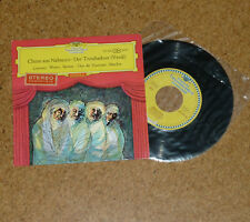 Single Chöre aus Nabucco Der Troubadour DGG 1Ed Red Stereo 121563 SEPL Winters