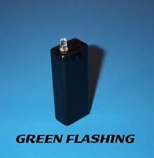 FAKE CAR ALARM LED - GREEN BLINKING AAA BATT aa