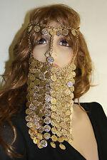 Beduinen-Maske Beduinenschmuck Fasching Schmuck Karnevalsschmuck Orient MAS00012