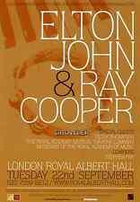 ELTON JOHN - 2009 TOUR FLYER - GENUINE RARE CONCERT LIVE ROYAL ALBERT HALL PROMO