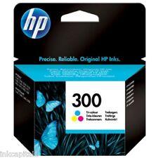 HP No 300 Colour Original OEM Inkjet Cartridge For D1660, D2500, F4580