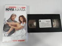 NOVIA A LA FUGA TAPE VHS CINTA COLECCIONISTA RICHARD GERE JULIA ROBERTS ESPAÑOL