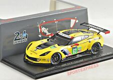 NEW 1/43 Spark S5131 Chevrolet Corvette C7R, 24hrs LeMans 2016, #63