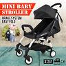 Mini Folding Baby Stroller Jogger Tour Lightweight Compact Travel Cobalt w/Bag