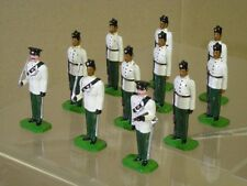DUCAL 6th QUEEN ELIZABETH's OWN GURKHA RIFLES OFFICER & SOLDIER at ATTENTION x11