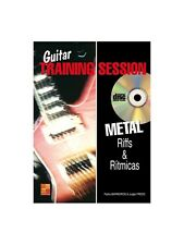 Guitar Training Session Riff & Ritmicas Hard-Rock Learn to Play MUSIC BOOK & CD
