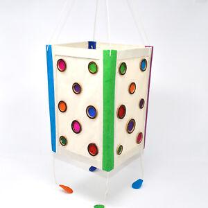 Lokta Paper Handmade Lamp shade with Bamboo ring, Natural and organic Paper