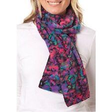 Isotoner Kaleidoscope Knit Soft Fleece SmartDri Moisture Wicking Scarf, MSRP $34