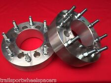 """2.5"""" Ford 2004-up dually conversion HUB CENTRIC WHEEL ADAPTERS 8x170 to 8x200"""