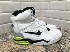 Nike Air Command Force SAMPLE White Wolf Grey Black Volt Men's SZ 9 684715-100