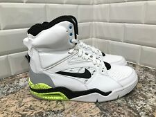 Nike Air Command Force SAMPLE White Wolf Grey Black Volt Men's SZ 9 684715-100