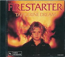 "Tangerine Dream ""FIRESTARTER"" soundtrack CD OOP VSD-5251"