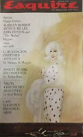 "MARILYN MONROE ARTHUR MILLER JOHN HUSTON ""THE MISFITS"" 1961 ESQUIRE Magazine"