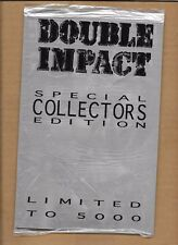 DOUBLE IMPACT SPECIAL COLLECTORS EDITION SDCC 1995 RISQUE SEALED LIMITED TO 5000