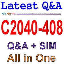 IBM Notes and Domino 9.0 Social Edition Application C2040-408 Exam Q&A PDF+SIM