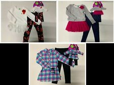 Brand New with Tag Dollie & Me Girls' 3 pieces Legging Set for Kids and Doll