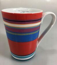 DKNY Lenox Urban Essentials Cherry Red Porcelain Mug 8 oz NEW
