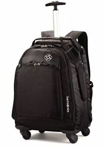 NWT Samsonite MVS spinner backpack luggage with multi pockets and laptop sleeve