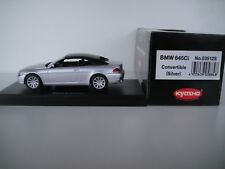 1/43 KYOSHO.  BMW 645 CI CONVERTIBILE- SPIDER 2004