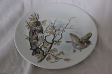 Wall Plate Stieglitse  Birds Kaiser W Germany