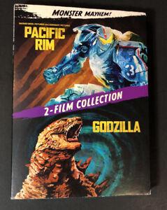 Monster Mayhem 2-Film Collection [ Godzilla + Pacific Rim ] (DVD) NEW