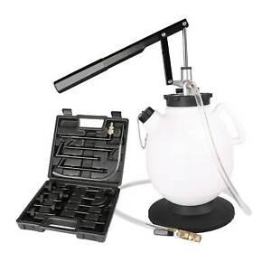 7,5 L Getriebeöl Befüllgerät Öleinfüllgerät Handpumpe Adapter für Ölwechsel