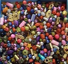 GRAB BAG- New Assorted mix of Beads, Chips, Tiny- small Sizes & Shapes 2 oz.