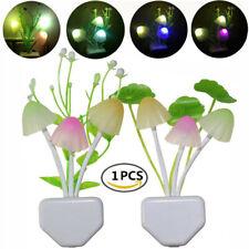LED Light Control Dream Mushroom Romantic Water Plants Led Night Light Bed Wall