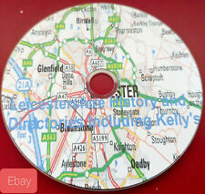 History of Leicestershire & Kellys local directories pdf ebook genealogy on disc