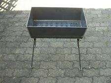 Mangal aus 3 mm 70x27 cm Stahl Grill Mangal Schaschlik  ohne Zubehör