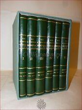 ABRUZZO Folklore Storia - DE NINO, Antonio: USI ABRUZZESI 6 volumi 1879-1897