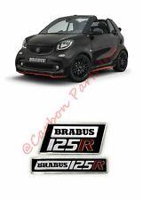 For Mercedes Benz  Emblem Tail Badge Logo Brabus Smart Fortwo C453 2015-2019