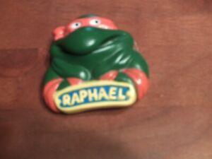 1989 Teenage Mutant Ninja Turtles Raphael Window Cling Burger King