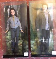 Twilight Pink Label 2009 Barbie Bella And Edward Dolls Sealed