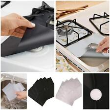 1 Pcs Reusable Gas Range Stove Top Burner Protector Liner Cover For Cleaning