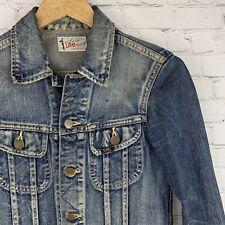 Women's Vintage Lady Lee Riders (Small) Sanforized Blue Denim Jacket