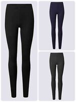 Ex N*Xt Womens Leggings High Waist Black Grey Navy Size 6-26 Petite Reg Tall