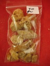 (k-4056) 50 g Rare Kauri tree Gum bag chips copal Amber New Zealand Tane Mahuta