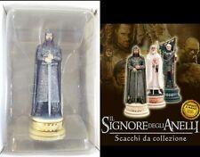 Aragorn re bianco il signore degli anelli scacchi chess collezione modellino new