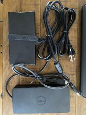 New listing Dell D6000 Usb 3.0 Usb-C 4K Docking Station w/ 130W Adapter