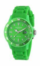 NEON GREEN Unisex Madison Candy Time Designer Quartz Watch+pouch U4503-49