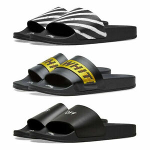 21/SS Off White Mens Industrial slider 3 Color Summer beach shoes