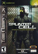 Tom Clancy's Splinter Cell - Original Xbox Game