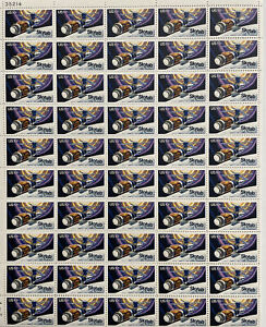 Scott #1529 SKYLAB Sheet of 50 US 10¢ Stamps MNH 1975